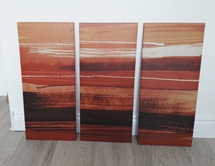 Canvas Wall Art Set of 3
