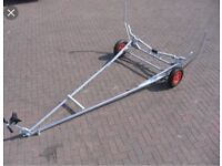 Wanted dinghy launching trolley