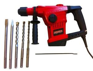 INDUSTRIAL GRADE  SDS-MAX Rotary Hammer Drill     Special Price  Regular Price $499 - Now $250