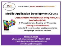 ADVANCED MOBILE APP DEVELOPMENT COURSE STARTING SOON