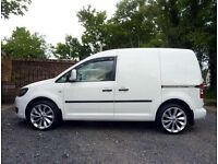 2012 White Volkswagen Trend line Caddy van swb, 1.6 Tdi 102bhp, show room condition!