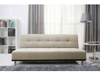 - 14 DAYS MONEY BACK GUARANTY / DUKE ITALIAN STYLE __ LARGE SOFA BED / CONVERT INTO BED - BRAND NEW