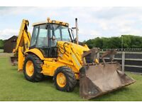 JCB 3CX 4WD site master plus backhoe loader