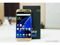 Samsung galaxy s7 edge gold unlocked to all networks