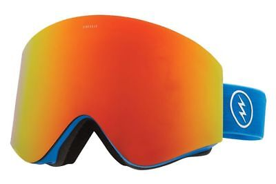 08c632cd44d7 Electric Unisex EGX Snowboard Ski Goggles - Royal Blue Red Chrome Lens