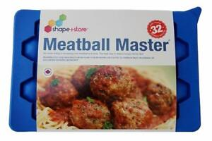 MEATBALL MASTER Makes 32 even-sized meatball