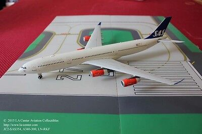 JC Wing Scandinavian SAS Airbus A340-300 in New Color Diecast Model 1:200