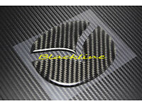 Schwarz Metall 3D Turbo Emblem Logo Aufkleber Für Mazda MX5 RX7 RX8 2 3 5 6 Mps