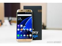 Samsung Galaxy S7 Edge (Gold) New, wanted £400 cash