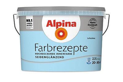 alpina wandfarbe farbrezepte lavendelduft matt fr her sommerflieder 2 5 l ebay. Black Bedroom Furniture Sets. Home Design Ideas
