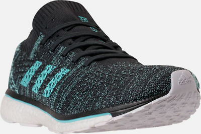 super popular efb9e 701db Adidas adizero Prime Parley Unisex Running Shoes Black  Aqua Blue Sz 8  DB1252