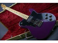 1976 USA Fender Telecaster Custom - Purple Refinish with Tweed Hard Case