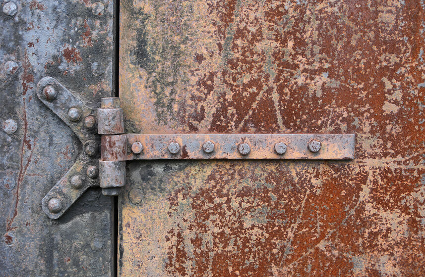 Rusty Door how to clean rusty door hinges | ebay