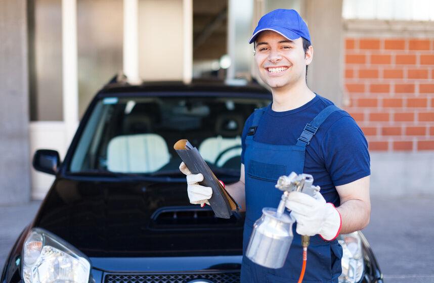 How to Spray a Car Bonnet