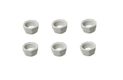 6 Pack Feed Hose Nut Replacement For Polaris Cleaners 180 280 380 480 D15 D-15 - Feed Hose Nut