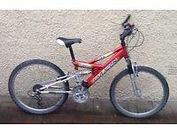 "Bike/Bicycle.BOYS SARACEN "" VETO "" MOUNTAIN BIKE. SUIT 9-12 YEARS"