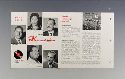 Schallplatten Parade Decca Platten Nummern Katalog Klassik Nr 2 k104