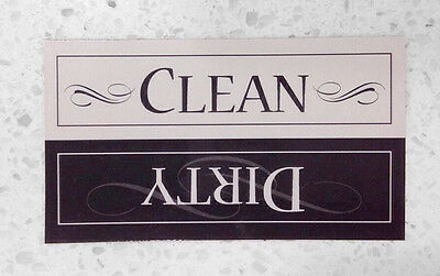 Clean / Dirty Dishes 30mil STRONG, THICK Magnet for Dishwasher