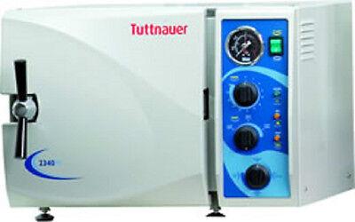 Tuttnauer 2340m Manual Autoclave M Series Sterilizer