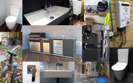 Bathroom Renovation, Plumbing, tiling, waterproofing and more