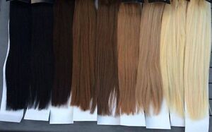 100% European REMY Human Hair Extensions (Clip in and Tape) Chadstone Monash Area Preview