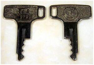 Vintage Honda Motorcycle Keys