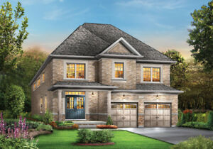 Brand New Detached 38' ,41', 46' ,50' lots in Northwest Brampton