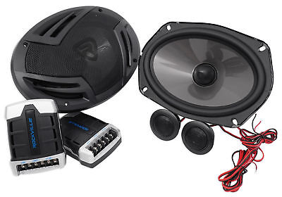 Pair Rockville Rv69 2C 6X9 Component Car Speakers 1000 Watts 220W Rms Cea Rated