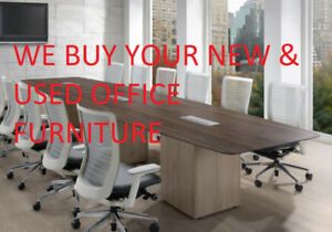 We Want Your New & Used Office Furniture