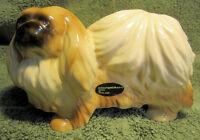 Large Vintage Pekingese Figurine