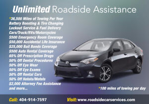 unlimited roadside assistance only $19.95