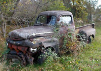 1952 Ford pick up and spare