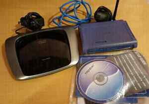 Linksys E2000 & Trendnet Wireless Routers