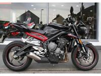 2017 Triumph Street Triple 765 R at Teasdale Motorcycles, Yorkshire
