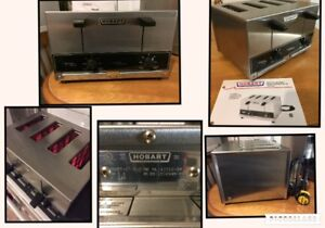 H O B A R T  ET 27 series Solid State control pop-up toaster