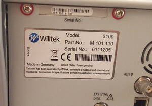 WILL'TEK Vicom 3100 MOBILE FAULT FINDER M101110 Go/No Go Tester Kitchener / Waterloo Kitchener Area image 7