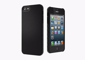 Cygnett Silicone Case For iPhone 5 5S 5C Black