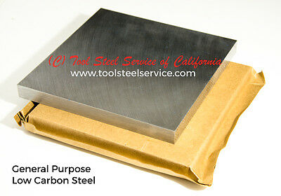 Low-carbon A36 Steel Sheet 34 Thick 8 X 12 Ground Finish Plate