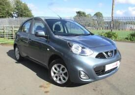 2014 14 Nissan Micra 1.2 Acenta Manual 5 Door with Air Con and Bluetooth