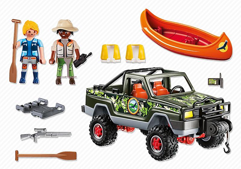PLAYMOBIL 5558 Wild Life Abenteuer Pickup Neu OVP Dschungel