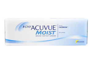 1 Day Acuvue Moist pwr-9.00 30 pack