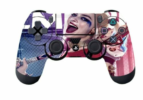 Sticker New Custom Harley Quinn Skin for PlayStation 4 PS4 Gaming Controller D