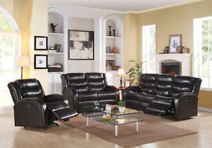 3 PIECE RECLINER SOFA SET ON SALE FOR 1499.99
