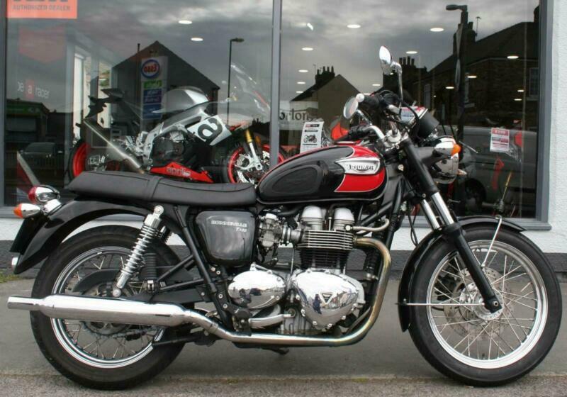 2007 Triumph Bonneville T100 At Teasdale Motorcycles Yorkshire In