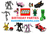 """LEGO THEMED """"IN HOME"""" BIRTHDAY PARTY ENTERTAINMENT"""