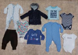 Boys' clothes ageed 6-9mc