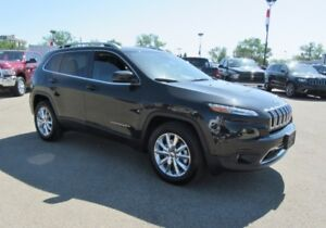 2016 Jeep Cherokee Limited  SAFETY,TECH,PARALLEL PARK ASSIST