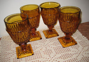 Indiana water goblets-Mont-vernont