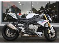 2017 BMW S 1000 R ABS with Aftermarket Exhaust at Teasdale Motorcycles, Yorks