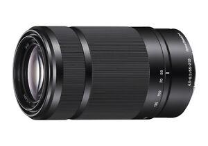 Brand New Sony 55-210 mm E-Mount Lens